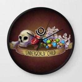 Underworld Child Wall Clock