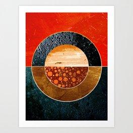 Abstract #143 Art Print