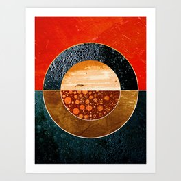 Abstract #143 Art Print