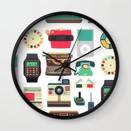 RETRO TECHNOLOGY 2.0 Wall Clock