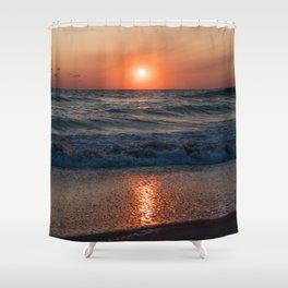 Canaveral Seashore Sunrise Shower Curtain