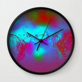 Effervescent Sheen Wall Clock