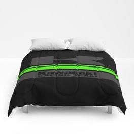 KAWASAKI Dark Comforters