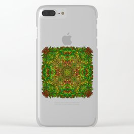My head is a jungle Clear iPhone Case
