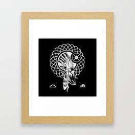 SPIRIT PATH Framed Art Print