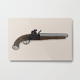 George Washington's Pistol Metal Print