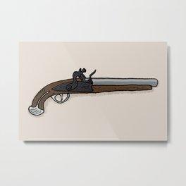 George Washington's Pistol Metal Print