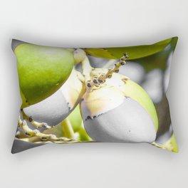 Manila Palm Green Rectangular Pillow