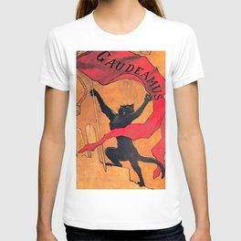 """Théophile Steinlen """"Gaudeamus"""" T-shirt"""