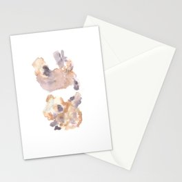 Soft Texture Watercolor | [Grief] Separation Stationery Cards
