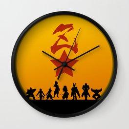 Enemy Warriors Wall Clock