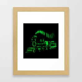 Money Train Framed Art Print