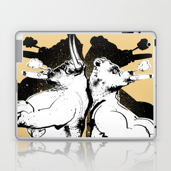 The Bull & Bear Laptop & iPad Skin