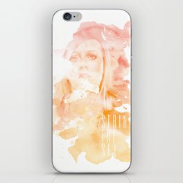 Stain The Sky iPhone Skin