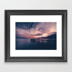 L'embarcadère Framed Art Print