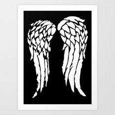 Daryls Wings Art Print