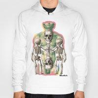 bones Hoodies featuring BONES by MANDIATO ART & T-SHIRTS