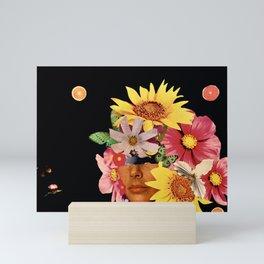 The Citrus Queen of Saturnia Black Background Mini Art Print