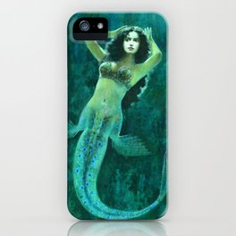 Vintage Mermaid iPhone Case