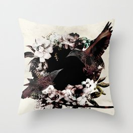 DEEP ROLLERS (STARLINGS) Throw Pillow