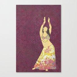 Belly dancer 13 Canvas Print