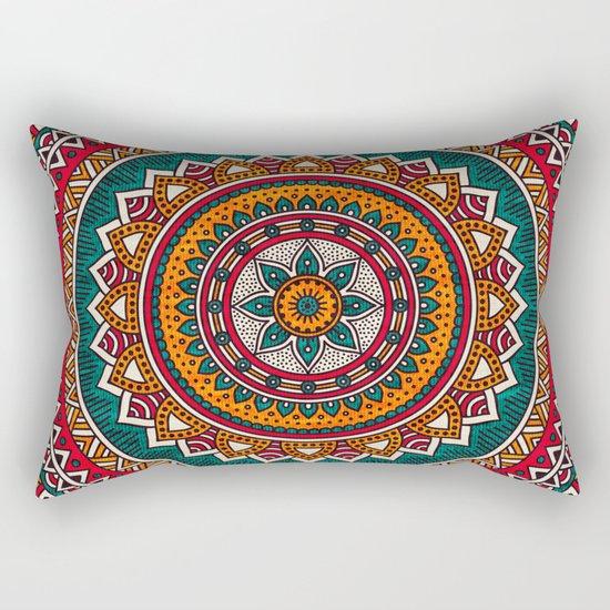 Hippie Mandala 9 Rectangular Pillow