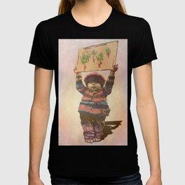 Mensaje de niño T-shirt