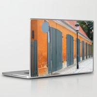 copenhagen Laptop & iPad Skins featuring Copenhagen, Denmark by Amanda Lynn Granek