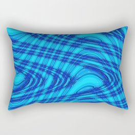 Blue In My Dreams Rectangular Pillow