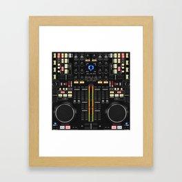 DJ Set NS7 Denon Mc6000 Framed Art Print