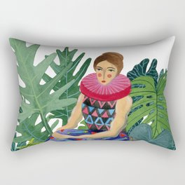 Queen of the greenhouse Rectangular Pillow