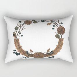 Dried Winter Rectangular Pillow