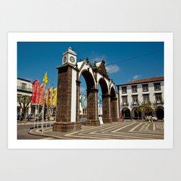 Ponta Delgada, Azores Art Print