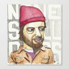 aesop rock portrait. 2008 Canvas Print