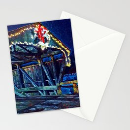 Mad River Coved Bridge, Vermont Stationery Cards