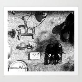 Stuff, Brick Lane, London Art Print