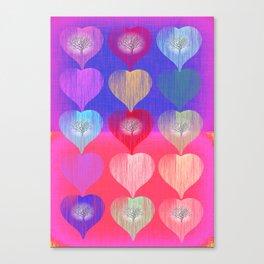 TREEHEARTS  Canvas Print