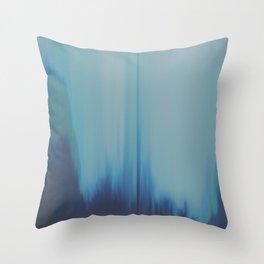 Cool Wave Throw Pillow