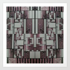 FX#509 - The Faded Geometric Art Print