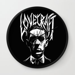 lovecraft metal band creator of cthulhu Wall Clock