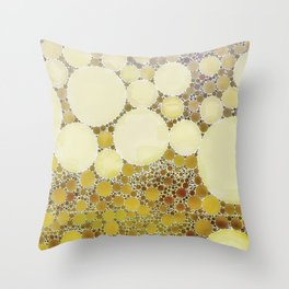 :: Mimosa Morning :: Throw Pillow