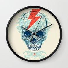 Skull Bolt Wall Clock