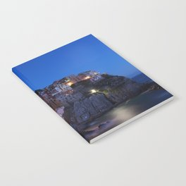 Cinque Terre Italy at night Notebook