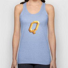 The Queen Logo Unisex Tank Top