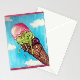Melting Icecream Stationery Cards