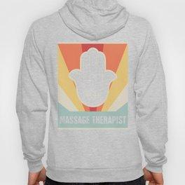 Vintage Style Massage Therapist Hamsa Hoody