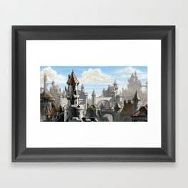 Blue Sky Kingdom Framed Art Print