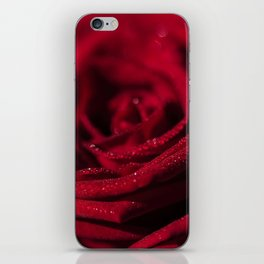 Fire - Red - Rose - Roses Flowers iPhone Skin