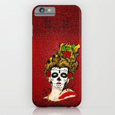 Halloween the day of the dead Skull face painting iPhone 4 4s 5 5s 5c, pillow case, mugs and tshirt iPhone 6s Slim Case