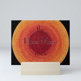 Blood Moon on the Rise Mini Art Print